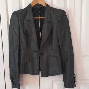 Hugo Boss Jackets & Coats - {BOSS by HUGO BOSS} Black White size 2